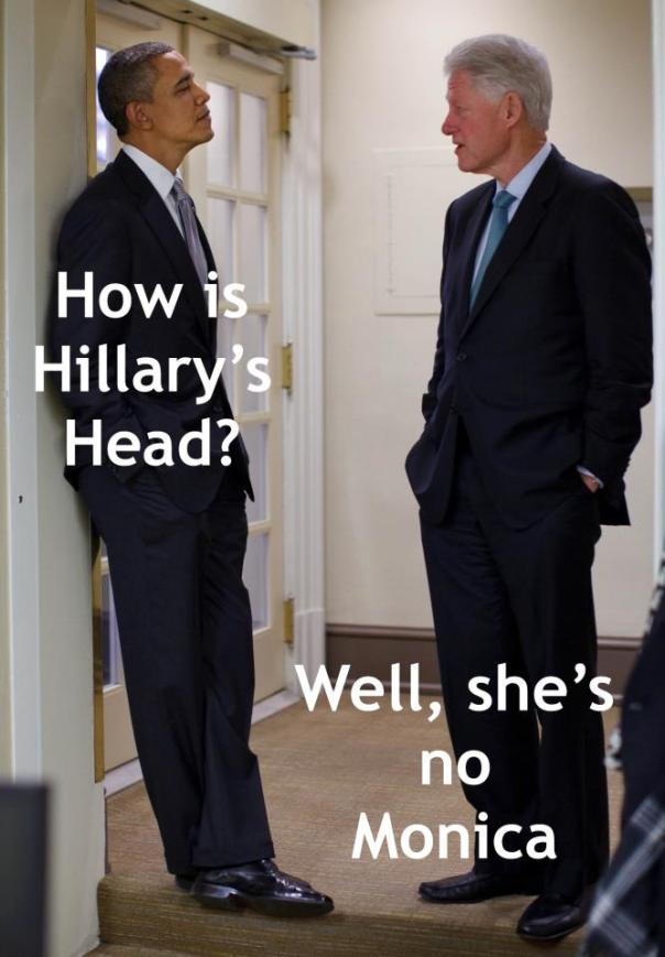 Bill and Hilary